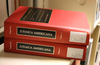 Digital Second Edition of Judaica Americana