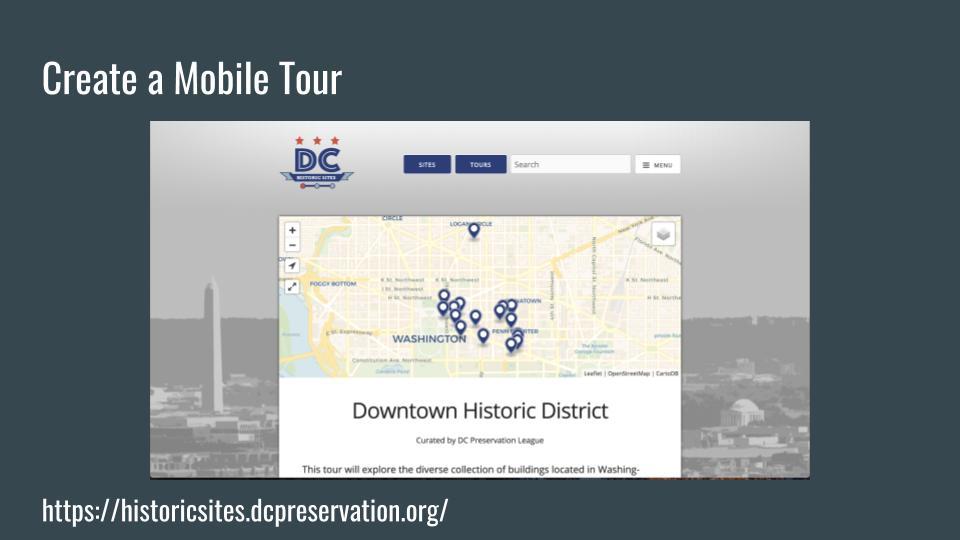 Createa Mobile Tour