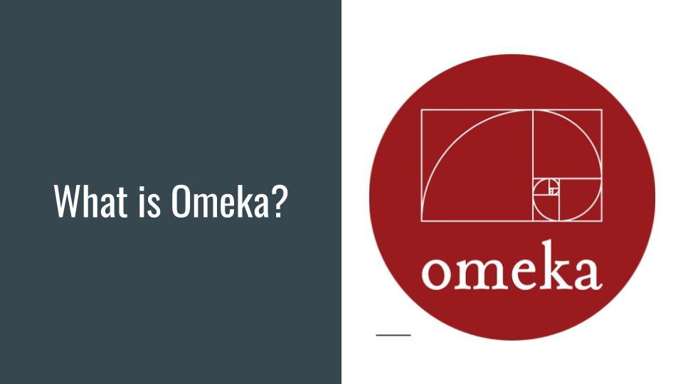 What is Omeka?